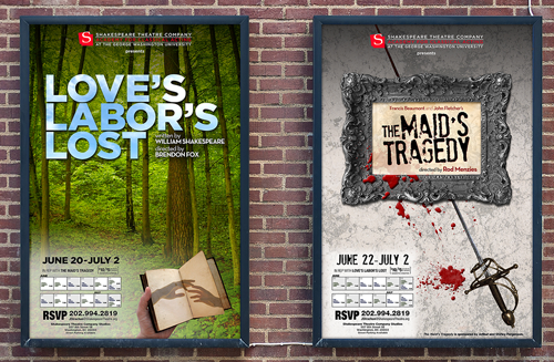Theatrical Posters for 2011 Rep Plays
