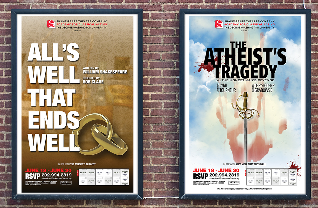 Theatrical Posters for 2012 Rep Plays