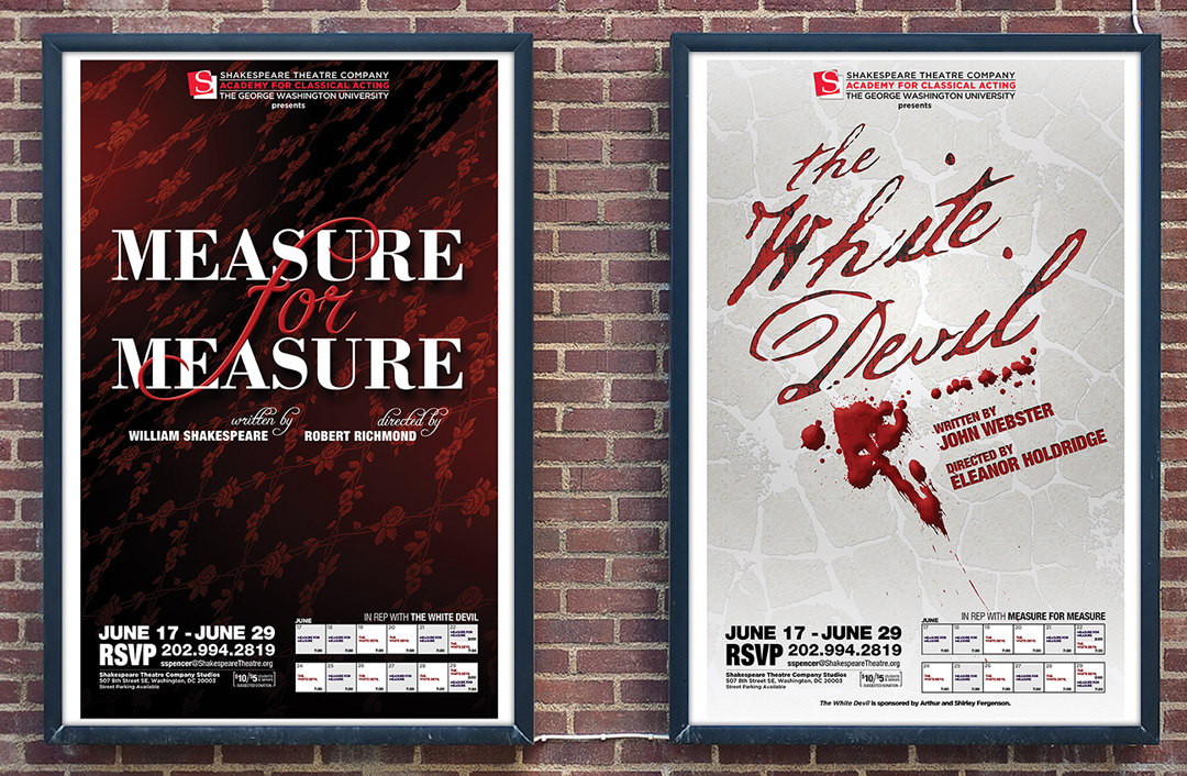 Theatrical Posters for 2013 Rep Plays