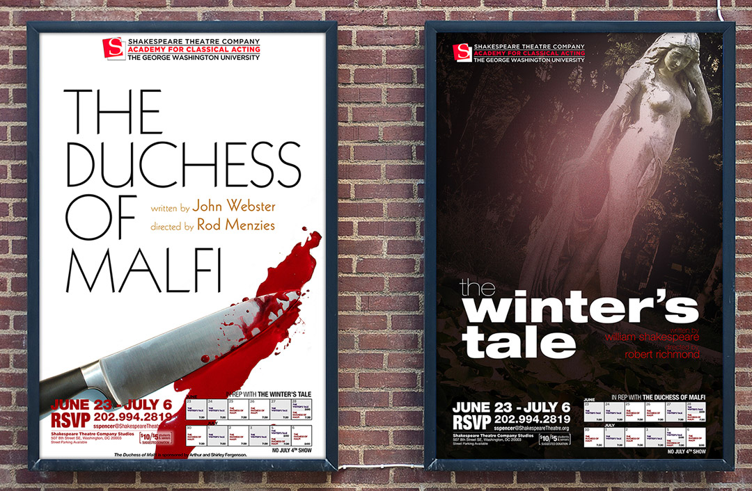 Theatrical Posters for 2014 Rep Plays