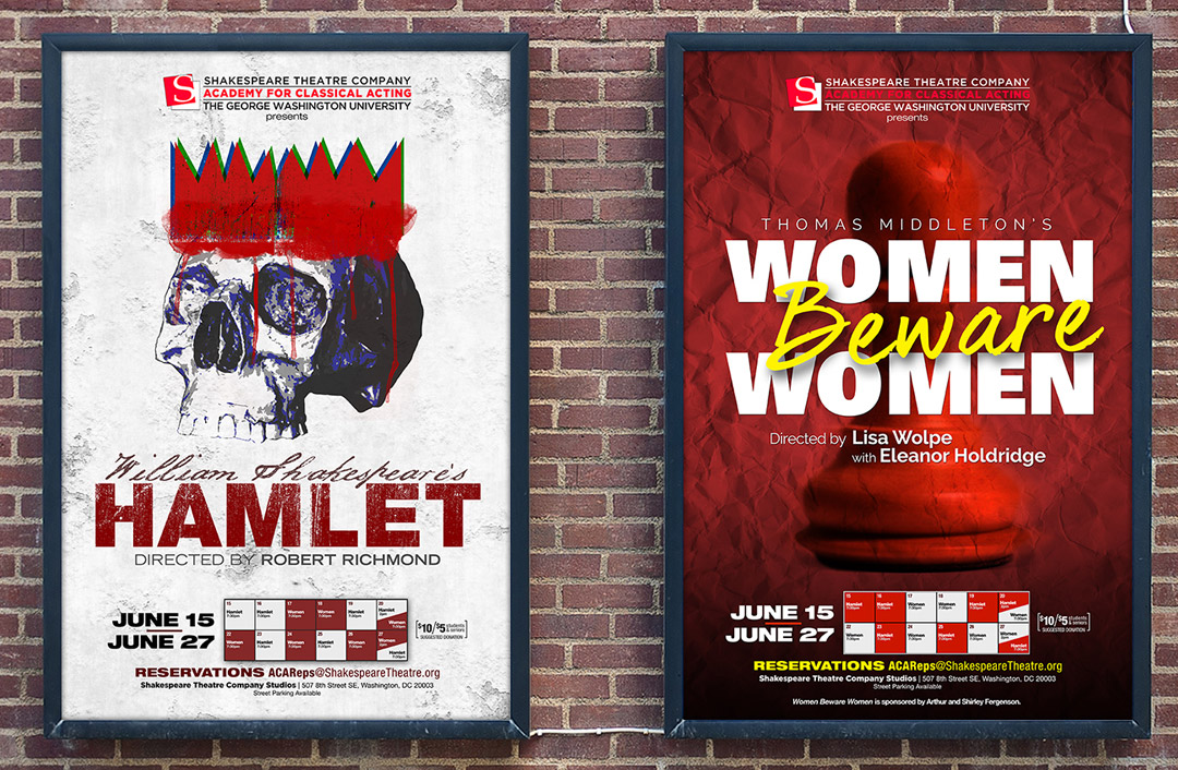 Theatrical Posters for 2015 Rep Plays